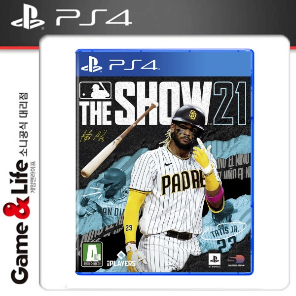 PS4 MLB THE SHOW 21 / MLB21 / 더쇼21